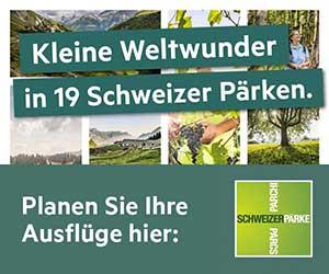 Schweizer Pärke entdecken